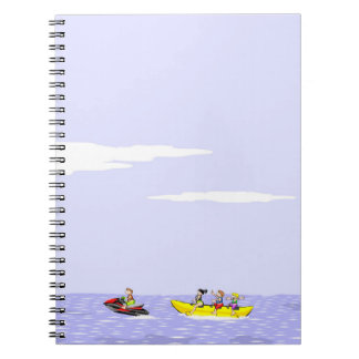 In a boat banana the total diversion notebook