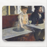 In a Cafe, or The Absinthe, c.1875-76 Mouse Pad