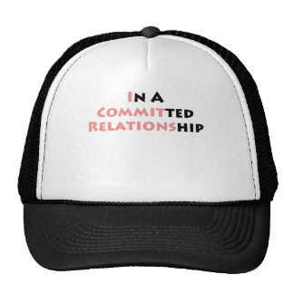 In A Committed Relationship Mesh Hats