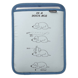 In a Dog's Age iPad Sleeve
