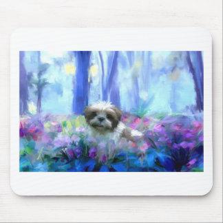 in a flowerbed jpg mousepad
