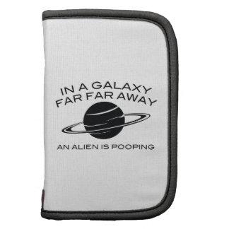 In A Galaxy Far Far Away An Alien Is Pooping Planners