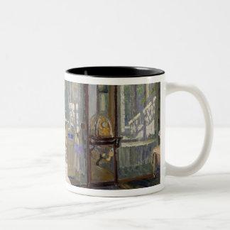 In a House, 1913 Two-Tone Coffee Mug