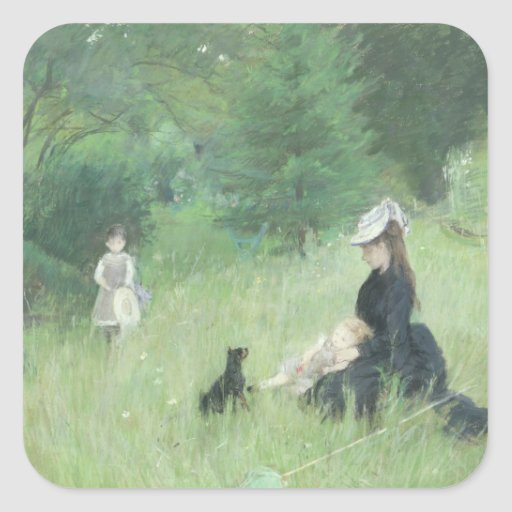 In a Park, c.1874 Stickers