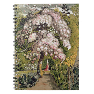 In a Shoreham Garden (w/c) Notebook