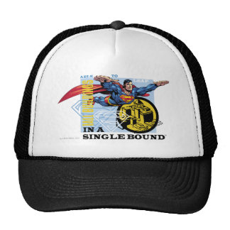 In a single bound mesh hats