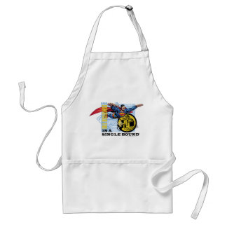 In a single bound standard apron