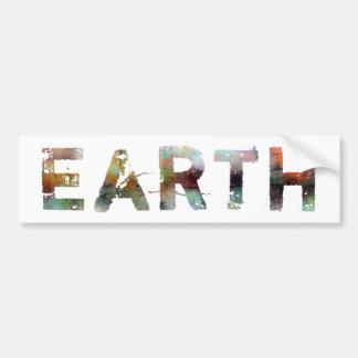 In A Word: Earth Bumper Sticker