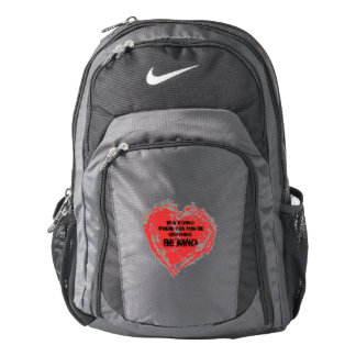 In a World where you can be anything, BE KIND Backpack