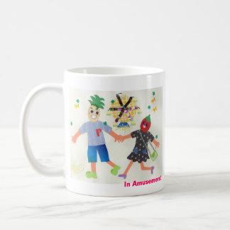 In Amusement (Pine&Berry) Basic White Mug