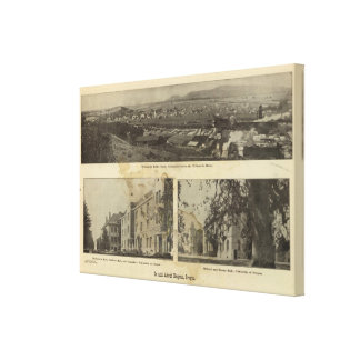 In and about Eugene, Oregon Canvas Print
