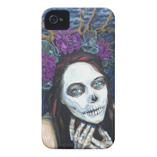 In Between, Day of the Dead Woman, Skull Make-up iPhone 4 Cases