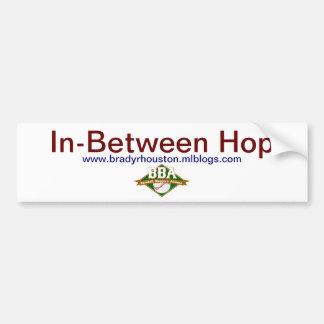 In-Between Hop Bumper Sicker Bumper Sticker