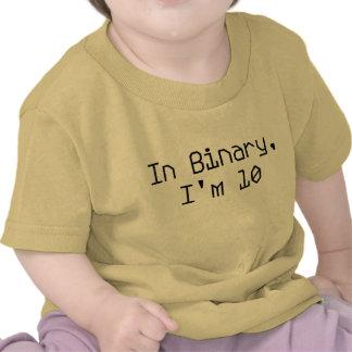 In Binary, I'm 10 Shirts