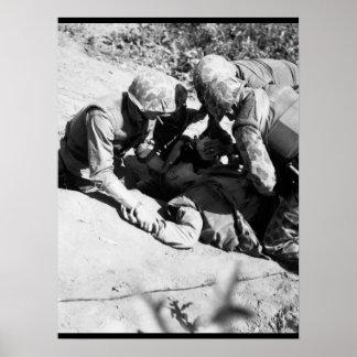 In bitter fighting on Hook Ridge_War Image Poster