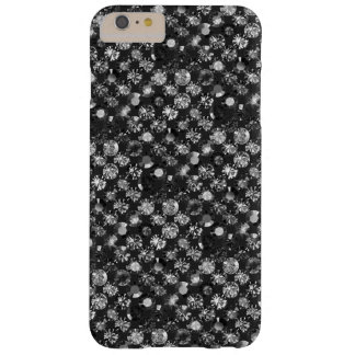 in black grey barely there iPhone 6 plus case