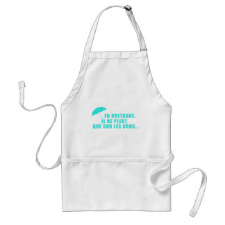 In Brittany not of idiots Apron