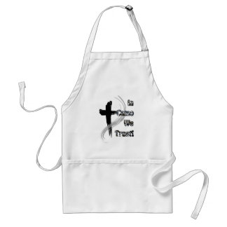 In Camo We Trust Gifts for Hunters Apron