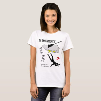 In case of broomstick accident customizable T-Shirt