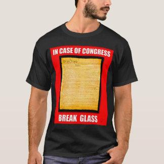 In Case Of Congress Break Glass (US Constitution) T-Shirt