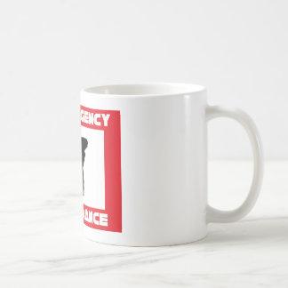 In case of emerency Break dance Basic White Mug
