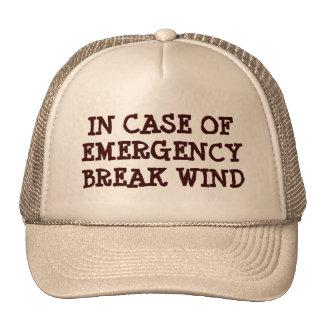 In Case Of Emergency Mesh Hats