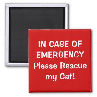 In Case of Emergency Magnet