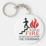 In Case of Fire Keychain