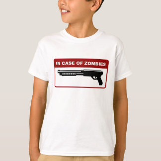 In Case Of Zombies T-Shirt
