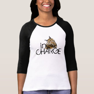 In Charge, Too Cute Maine Coon Cat T-Shirt