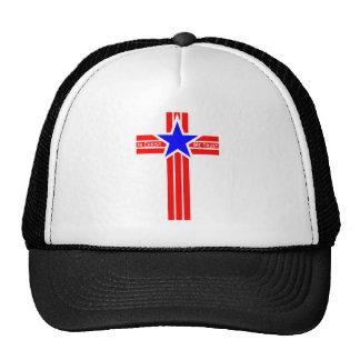 In Christ We Trust Mesh Hats