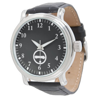 In circle one letter wristwatches
