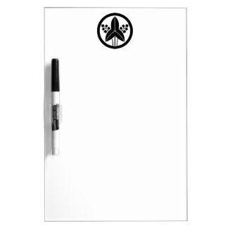 In circle stand water plantain dry erase board