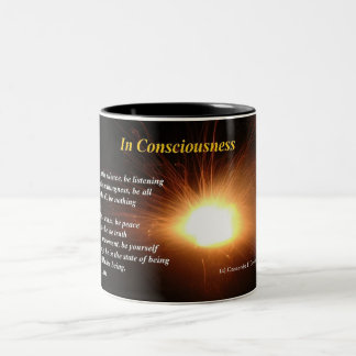 In Consciousness Two-Tone Mug
