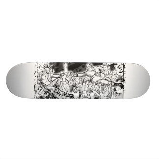 In Crust We Trust Custom Skateboard
