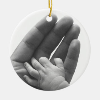 In Daddy's Hand Christmas Ornament