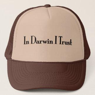 In Darwin I Trust Trucker Hat