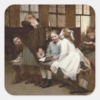 In Detention, 1888 Square Sticker