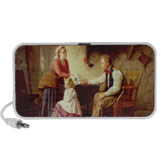 In Disgrace, 1875 (oil on canvas) Travelling Speaker