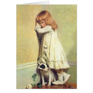 In Disgrace by Charles Burton Barber Card