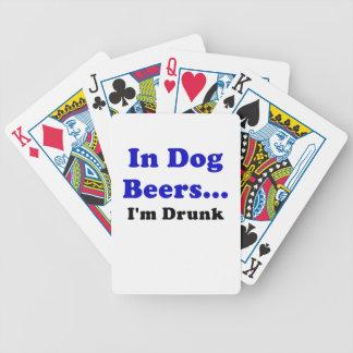 In Dog Beers Im Drunk Bicycle Card Decks