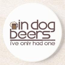 In Dog Beers (w/Mug) Coasters