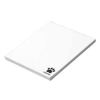 In Dog We Trust Notepad