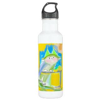 In dotcookstar 710ml water bottle white ya - flask 710 ml water bottle