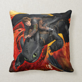 In Dragons We Trust Cushion