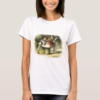 In Fairyland A Fairy Kiss by Richard Doyle T-Shirt