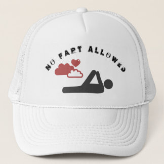 In fart allowed trucker hat