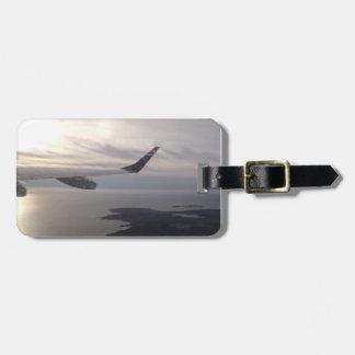 In flight luggage tag