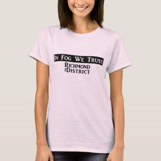 """In Fog We Trust"" - Women's TShirt"