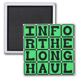 In For The Long Haul Devoted Fridge Magnet